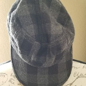 Other - Plaid Newsboy Hat